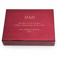 Special Man To Be A Dad Personalized Humidor