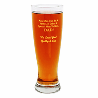 Special Man To Be A Dad Pilsner Glass