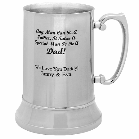 Special Man To Be A Dad Steel Mug - Discontinued