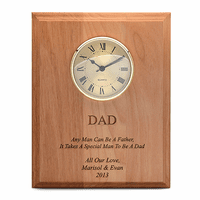 Special Man To Be A Dad Wall Clock Plaque