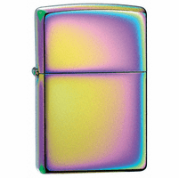 Spectrum Zippo Lighter - Free Engraving - ID# 151