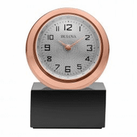 Sphere Desktop Clock By Bulova