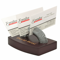 Spiral Memo Holder and Paper Weight - Free Personalization