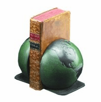 Split Globe Bookends - Discontinued