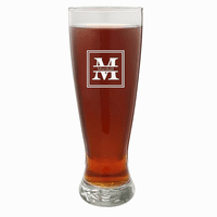 Split Monogram   22 Ounce Grand Pilsner Glass