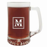 Split Monogram   25 Ounce Sports Mug