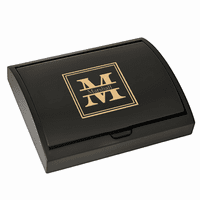 Split Monogram   Pen and Card Case Gift Set - Free Personalization
