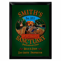 Sportman's Sanctuary Pub Sign - Free Personalization