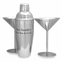 Stainless Steel 3 Piece Martini Set - Discontinued