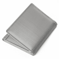 Stainless Steel Trifold Wallet