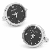 Stainless Steel Working Watch Cufflinks -Discontinued