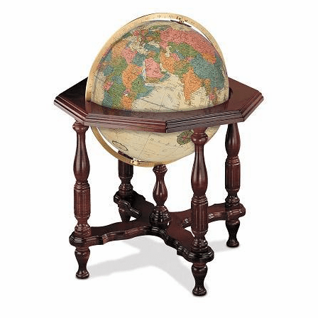 Statesman Floor Globe In Antique by Replogle Globes