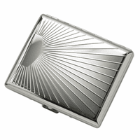 Sunshine Engravable Cigarette Case for Kings and 100s