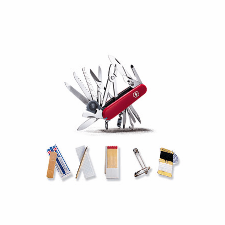 Swisschamp S.O.S. Set Swiss Army Knife