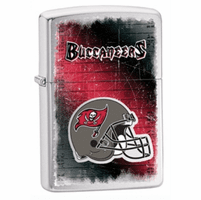 Tampa Bay Buccaneers NFL Brushed Chrome Zippo Lighter - ID# 28201