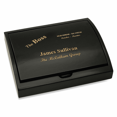 The Boss Pen and Card Case Gift Set
