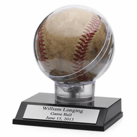 The Game Ball Personalized Baseball Holder