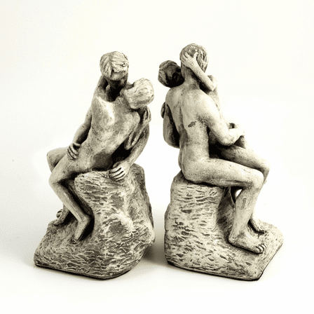 The Kiss Bookends