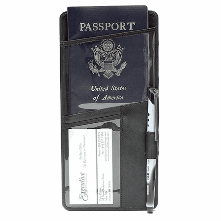 The Tote Travel Document & Passport Case