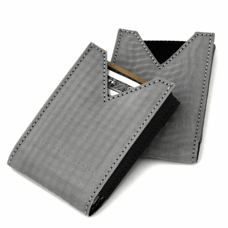 The V-Pouch Stainless Steel Card Case