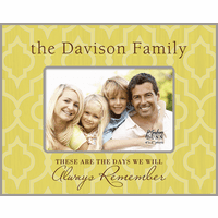 "These Are The Days Personalized 4"" x 6"" Picture Frame - Discontinued"
