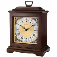 Thomaston Chiming Mantel Clock By Bulova - Discontinued