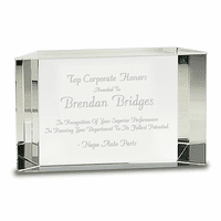 Tier Collection Personalized Employee Recognition Award