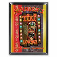 Tiki Lounge Pub Sign - Free Personalization