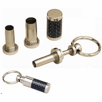 Titanium Finish 4 in 1 Cigar Punch with Injector