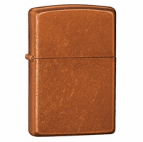 Toffee  Finish Zippo Lighter - ID# 21184