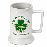 Top O' The Morning German Beer Stein - Discontinued