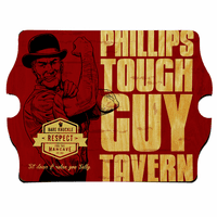 Tough Guy Tavern Vintage Pub Sign - Free Personalization