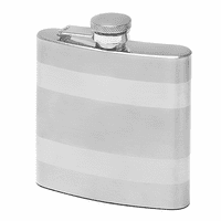 Tu-Tone Engraved  Flask