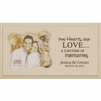 Two Hearts Personalized Boutique Picture Frame - Discontinued