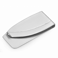Two Tone French Fold Money Clip