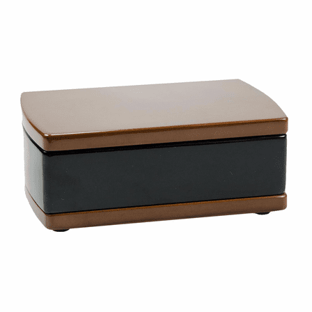 Two Tone Wooden Keepsake Chest
