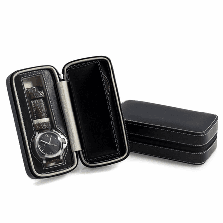 Two Watch Travel Case