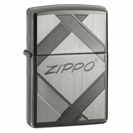 Unparalleled Tradition Black Ice Zippo Lighter - ID# 20969
