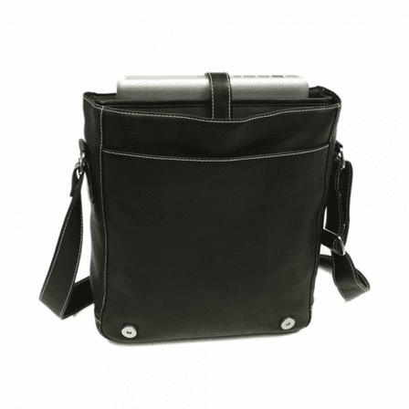 Urban Vertical Messenger Bag By Piel Leather Free Personalization