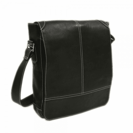 Urban Vertical Messenger Bag by Piel Leather - Free Personalization