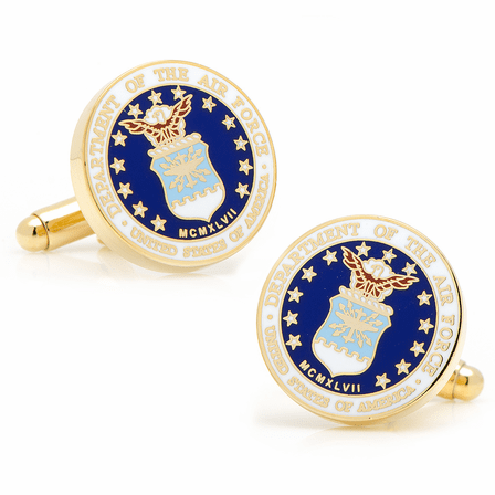 US Air Force Gold Plated Cufflinks