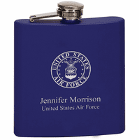 US Air Force Personalized Flask