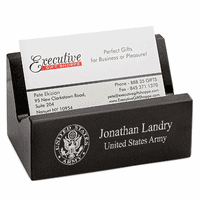 US Army Desktop Business Card Holder