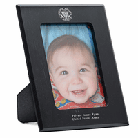 US Army Personalized Marble Photo Frame