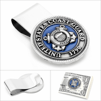 US Coast Guard Money Clip - Discontinued