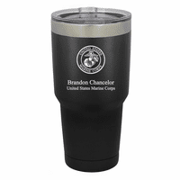 US Marines Emblem Personalized 30 Ounce Tumbler