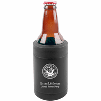 US Navy Emblem Personalized Insulated Can & Bottle Holder
