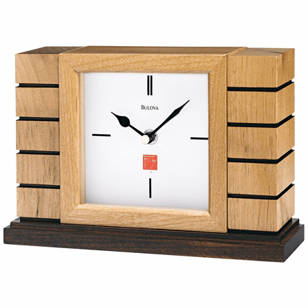 Usonian Mantel Clock By Bulova