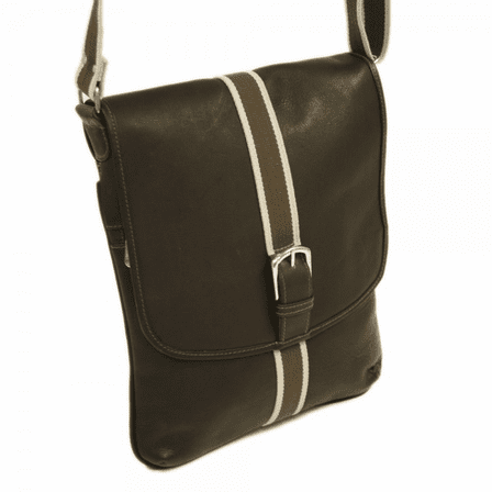 b58184afadcb Vertical European Messenger Bag by Piel Leather - Discontinued
