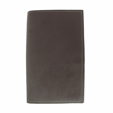 Vertical Leather Golf Score Card Cover